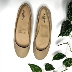 Lucky Brand Nude Lather Flats